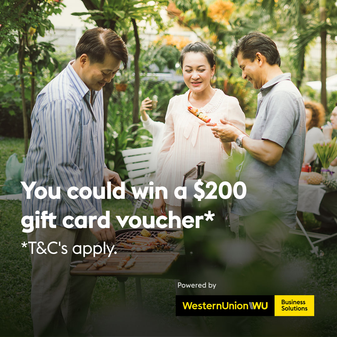 You could win one of ten $1,000 gift card vouchers